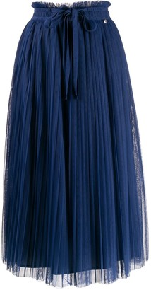 Twin-Set Pleated Skirt