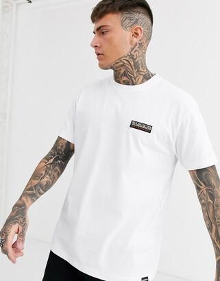 Napapijri Sase t-shirt in white