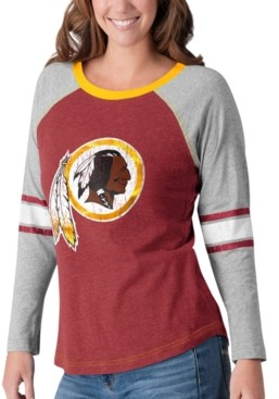 Redskins G-iii Sports Women's Washington Long Sleeve Top Pick T-Shirt