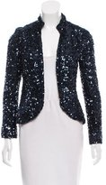 Gryphon Sequined Silk Jacket