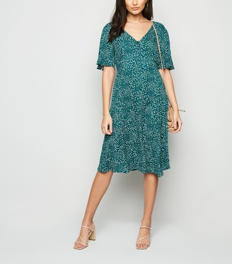 New Look Polka Dot Tea Dress