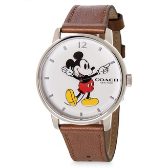 Disney Mickey Mouse Grand Leather Watch by COACH