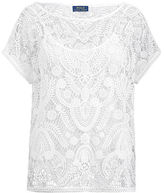 Polo Ralph Lauren Lace Short-Sleeve Shirt