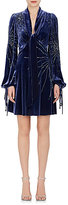 Marc Jacobs Women's Sequin & Bead Embroidered Velvet Minidress