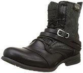 Bunker Women's Kol-fr1 Biker Boots black Size: