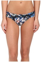 Badgley Mischka Floriana Shirred Cross Over Brief