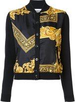 Moschino baroque frame cardigan