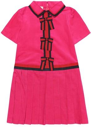 Gucci Kids Corduroy dress