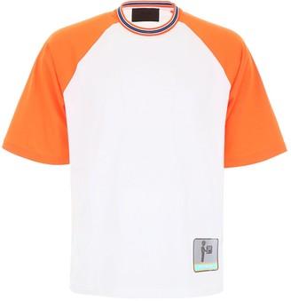 Prada Patchwork Detail T-Shirt