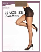 Berkshire Women's No Waistband with Ultra Sheer Leg and Sandalfoot Toe