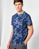 Ted Baker Geo print cotton Tshirt
