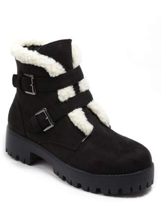 Catherine Malandrino Alona Faux Shearling Lined Bootie