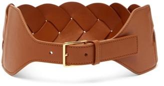 Altuzarra Braided Leather Belt - Tan