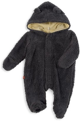 Magnetic Me Baby's Fleece Hooded Footie