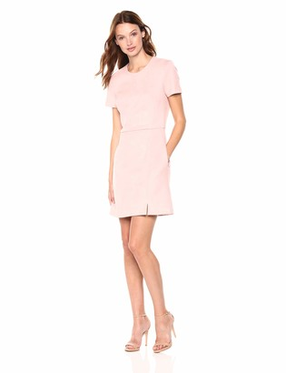 French Connection Women's Vegan Suede Mini Dress