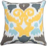 Ikat Medallion Decorative Pillow