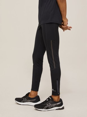 Ronhill Tech Revive Stretch Running Leggings, All Black