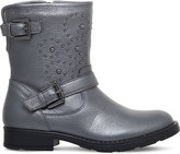Geox Sofia studded leather biker boots 7-10 years