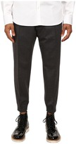 DSQUARED2 Stretch Wool Flannel Jogging Pants
