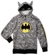 Batman Boys 8-20) Masked Hoodie