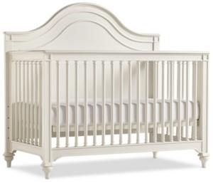 Furniture Genevieve Kids 4-In-1 Convertible Crib, (Convertible Crib, Bed Rails, Slat Roll & Footboard)