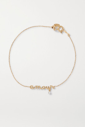 PERSÉE Amour 18-karat Gold Diamond Bracelet - one size