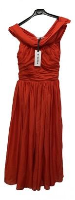 VIVETTA Red Silk Dresses