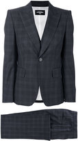 DSQUARED2 checked three piece suit