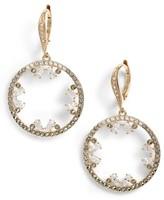 Judith Jack Women's Doublet Cubic Zirconia Drop Earrings