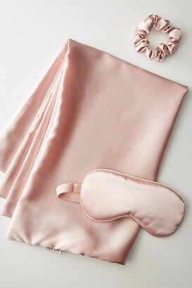 Kitsch Satin Beauty Sleep Set By in Pink