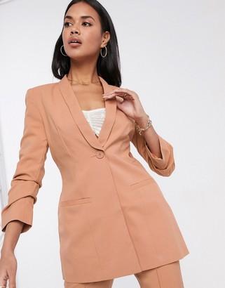ASOS DESIGN Hourglass mix & match suit blazer