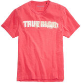 True Religion Men's Football Graphic-Print Logo T-Shirt