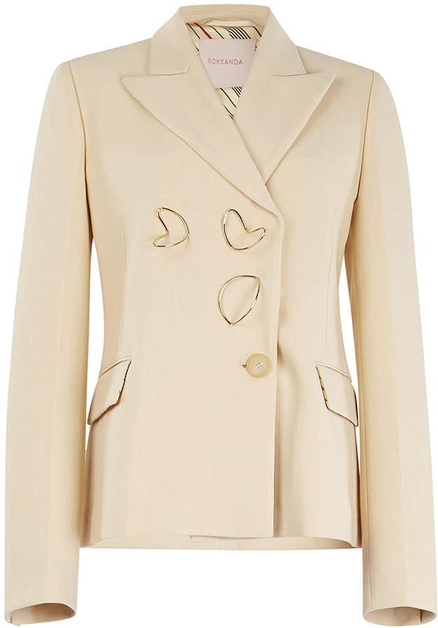 Roksanda Iona Embellished Blazer