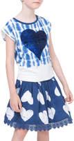 Desigual Sequined Heart Dress