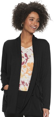 Sonoma Goods For Life Women's Long Sleeve Cinch-Waist Cardigan