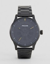 Police Black Bracelet Watch