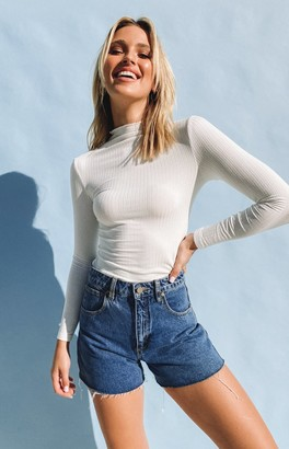 Beginning Boutique Seems Friendly High Neck Top White