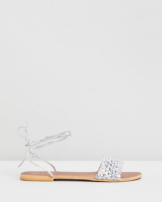 Jonak Jimmy Metallic Sandals