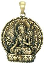 Summit White Tara Pendant - Collectible Medallion Necklace Accessory Jewelry