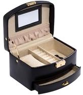 Bey-Berk Two-Level Jewelry Case