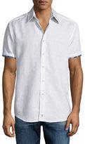 Robert Graham Lyman Short-Sleeve Woven Sport Shirt
