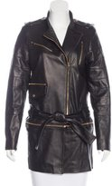 Thomas Wylde Leather Moto Jacket w/ Tags