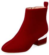 Hardy Velvet Ankle Boot