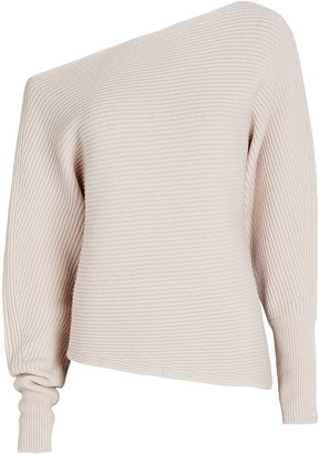 Intermix Jacqueline Off-The-Shoulder Sweater