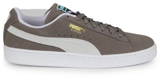 Puma Men's Classic Suede Lace-Up Sneakers