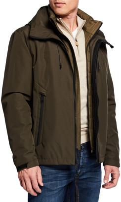 Cole Haan Men's 2-in-1 Zip-Front Jacket