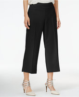 Bar III Wide-Leg Cropped Pants, Only at Macy's