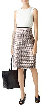 Hobbs London Gianna Tweed Detail Sheath Dress