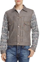 Junya Watanabe Floral Sleeve Levi's Trucker Jacket