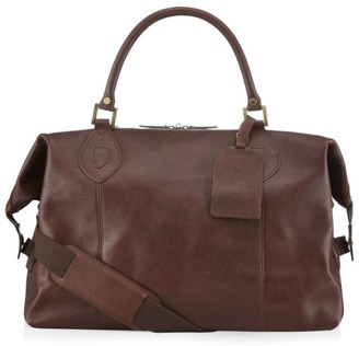 Barbour Leather Travel Explorer Bag